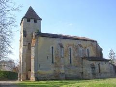 Eglise Saint-Martin-de-Gaube - Français:   Église Saint-Martin-de-Gaube à Perquie, dans le département français des Landes