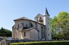 Eglise Saint-Etienne - English: Église de Biarrotte