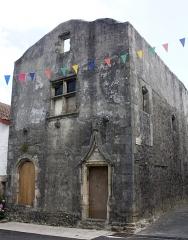 Maison forte de Tampouy - English:  Seneschal's house.