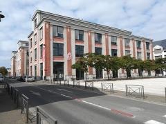 Chocolaterie Poulain - Français:   L\'école du paysage, ancien bâtiment de la chocolaterie Poulain, à Blois.