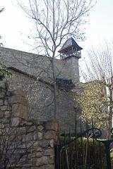 Château de Cornillon - English:  North tower of the castle.
