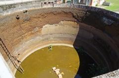 """Site minier dit """" Puits Couriot """" - Le puits Couriot: un bassin de décentation."""