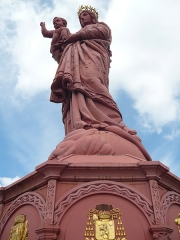 Statue de Notre-Dame de France - English: Virgin Mary statue in Le Puy-en-en-Velay