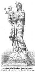 Statue de Notre-Dame de France -