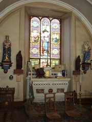 Château de la Tour-Maubourg - English: A view of the chapel of maubourg