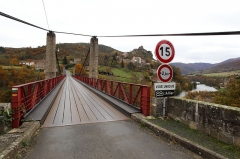 Pont suspendu de Saint-Ilpize -  Pont suspendu de Saint Ilpize