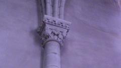 Eglise Saint-Jacques de Pirmil - English: Twelfth-century capital in Saint-Jacques-de-Pirmil, Nantes, south nave