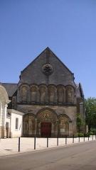Eglise Saint-Jacques de Pirmil - English: Façade of Saint-Jacques-de-Pirmil, Nantes