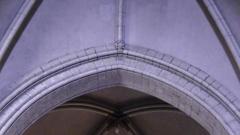 Eglise Saint-Jacques de Pirmil - English: Inscription in Saint-Jacques-de-Pirmil, Nantes, marking the date of construction of the original church (1180)