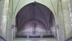 Eglise Saint-Jacques de Pirmil - English: Interior of Saint-Jacques-de-Pirmil, Nantes