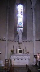 Eglise Saint-Jacques de Pirmil - English: North chapel of Saint-Jacques-de-Pirmil, Nantes