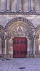 Eglise Saint-Jacques de Pirmil - English: West portal of Saint-Jacques-de-Pirmil, Nantes