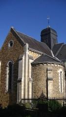 Eglise Saint-Jacques de Pirmil - English: South transept of Saint-Jacques-de-Pirmil, Nantes