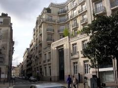 Immeuble de la Compagnie générale d'Accident (CGA) - Français:   Rue Racine (Nantes)