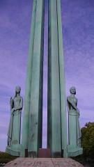 Monument aux Cinquante Otages - English: Detail from the Monument aux Cinquante Otages, Nantes