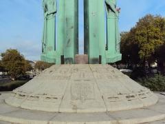 Monument aux Cinquante Otages - English: Detail of the Monument aux Cinquante Otages, Nantes