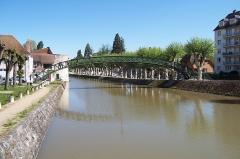 Passerelle de la Marolle - Français:   France - Loiret - Montargis - Passerelle (1)
