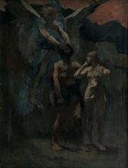 Ancien évêché concordataire, actuellement musée - Français:   Le châtiment de Caïn Henri Martin musée de Cahors Henri-Martin 2004.5.1