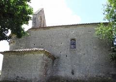 Eglise Sainte-Foy - Français:   Blaymont - Église Sainte-Foy - Façade nord