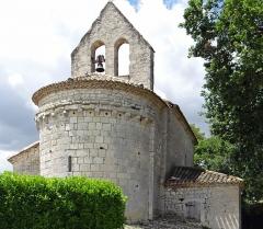 Eglise Sainte-Foy - Français:   Blaymont - Église Sainte-Foy - Chevet