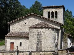 Eglise Sainte-Eulalie - Français:   Cauzac - Église Sainte-Eulalie