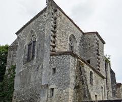 Eglise Saint-Martin - Français:   Cahuzac - Église Saint-Martin - Chevet