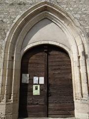 Eglise Saint-Martin - Français:   Cahuzac - Église Saint-Martin - Portail