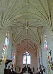 Eglise Saint-Martin - Français:   Cahuzac - Église Saint-Martin - Nef