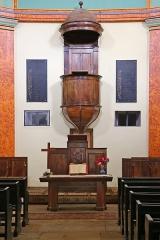Temple protestant - Deutsch: Protestantische Kirche (Temple-Meyrueis) in dem französischen Ort Meyrueis (Département Lozère).