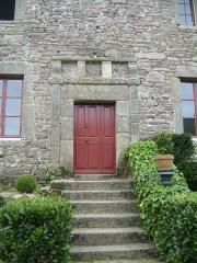 Manoir de la Madeleine -   Ferme de la Madeleine, Beaumont-Hague -  Perron