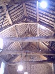 Manoir de la Madeleine -   Ferme de la Madeleine, Beaumont-Hague -  Toit de la grange