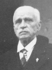 Hôtel de ville - Français:   Paul Renault, maire de Cherbourg, lors de la visite du général de Gaulle à Cherbourg, le 20 août 1944