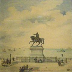Statue de Napoléon Ier, à Octeville -