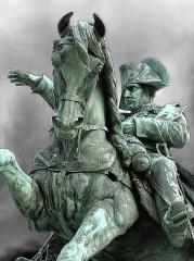 Statue de Napoléon Ier, à Octeville - English: Statue of Napoleon I in Cherbourg-Octeville.