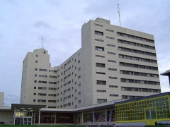 Hôpital - mémorial France - Etats-Unis - English: Hospital France-USA