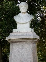 Domaine Emmanuel Liais -  Buste d'Emmanuel Liais, Parc Liais, Cherbourg-Octeville