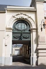 Cellier d'expédition -  La façade du cellier d'expédition Mumm à Reims  / Reims, Marne, France