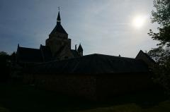 Château de Sept-Saulx - Vue de la Chapelle de Dormans.