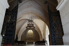Château de Sept-Saulx - entrée de la Chapelle basse du mémorial des batailles de la Marne à Dormans.