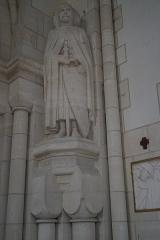 Château de Sept-Saulx - intérieur de la Grande chapelle du mémorial de Dormans.