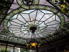 Ancienne maison Royer et Granthille -  Marne Chalons-En-Champagne Les Caudalies Restaurant Plafond 21062016