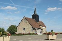 Église de Mondement - Lëtzebuergesch: D'Kapell beim Marne-Monument