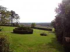 Maison dite la Boisserie - Français:   Vue du parc de La Boisserie, à Colombey-les-Deux-Églises