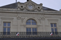 Théâtre municipal -  Saint Dizier.  Théâtre à l'italienne.