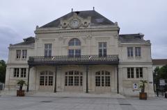 Théâtre municipal -  Saint Dizier.  Théâtre à l'italienne (vue générale).