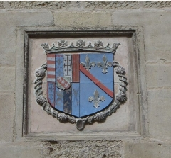 Maison - English: Coat of arms of Joinville, France.