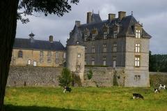 Château de Montecler -  Château de Montécler à Châtres-la-Forêt (Mayenne)