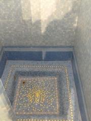 Bâtiment des bains-douches - Français:   Fond de douche