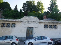 Bâtiment des bains-douches - Français:   Bâtiment des bains-douches