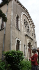 Synagogue - Français:   Vue de la Synagogue de Toul.